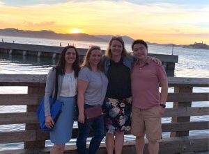 Rowan, Michelle, Dawn and HT in San Francisco