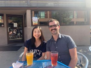 Grace and Joseph at Blue Moon, July 2019