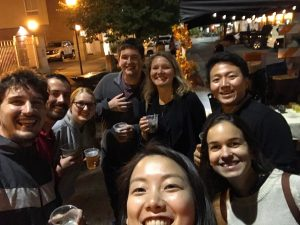 A night out with the lab