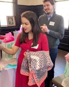 Arnaldo nd Indira at baby shower